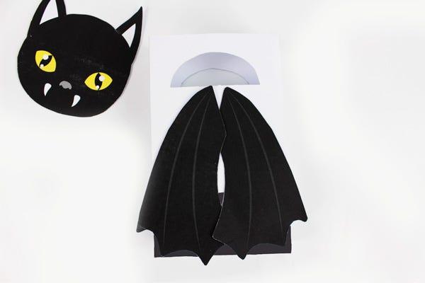 réalisez facilement ces petits sacs terrifiants pour Halloween !