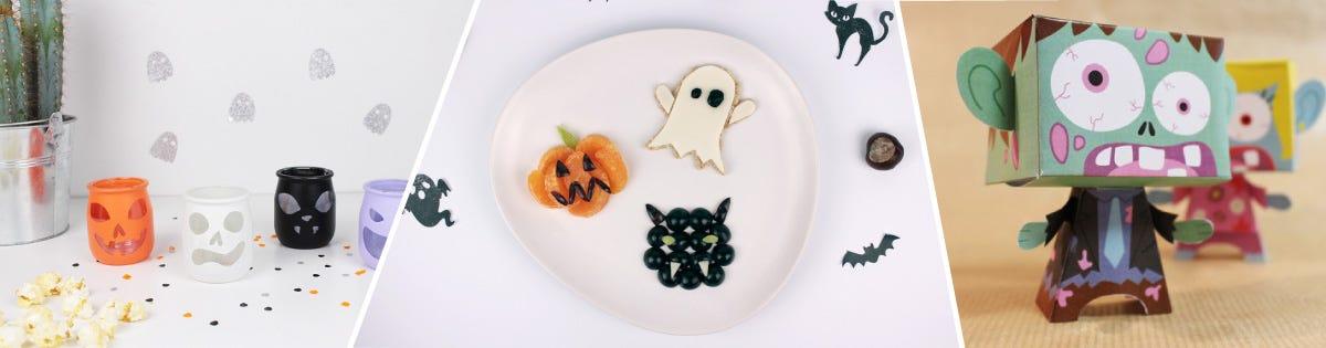 Découvrez toutes nos activités et DIY our une fête d'Halloween terrifiante !