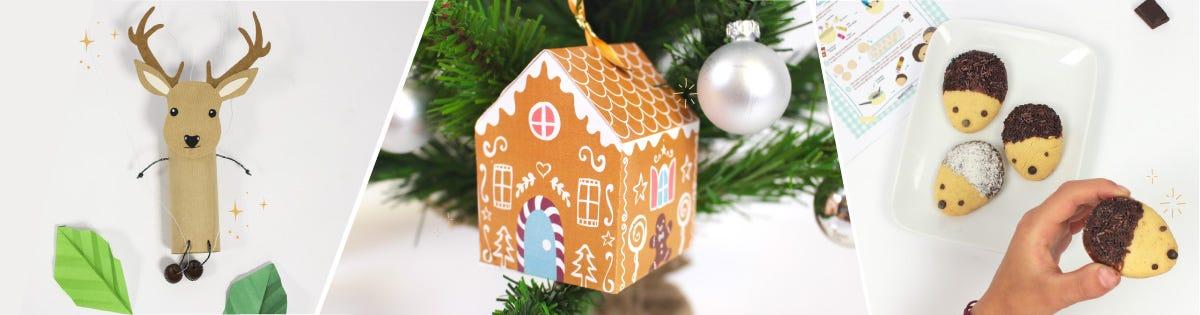 Plein d'activités ludiques pour occuper vos loulous pendant les vacances de Noël !