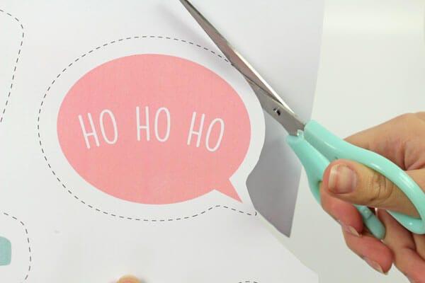 Des accessoires photobooth de Noël pour un réveillon inoubliable !