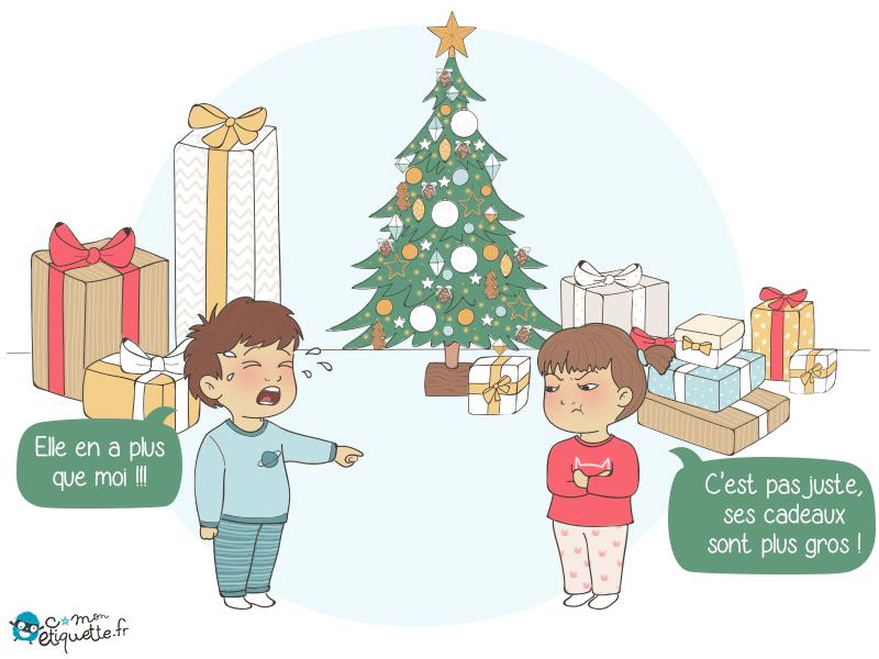 Une pointe de jalousie à l'ouverture des cadeaux !