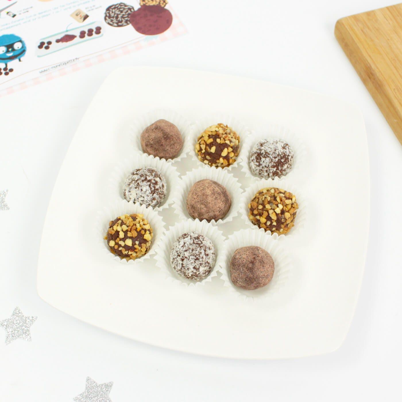 Pour Noël, retrouvez notre incontournable recette de truffes !