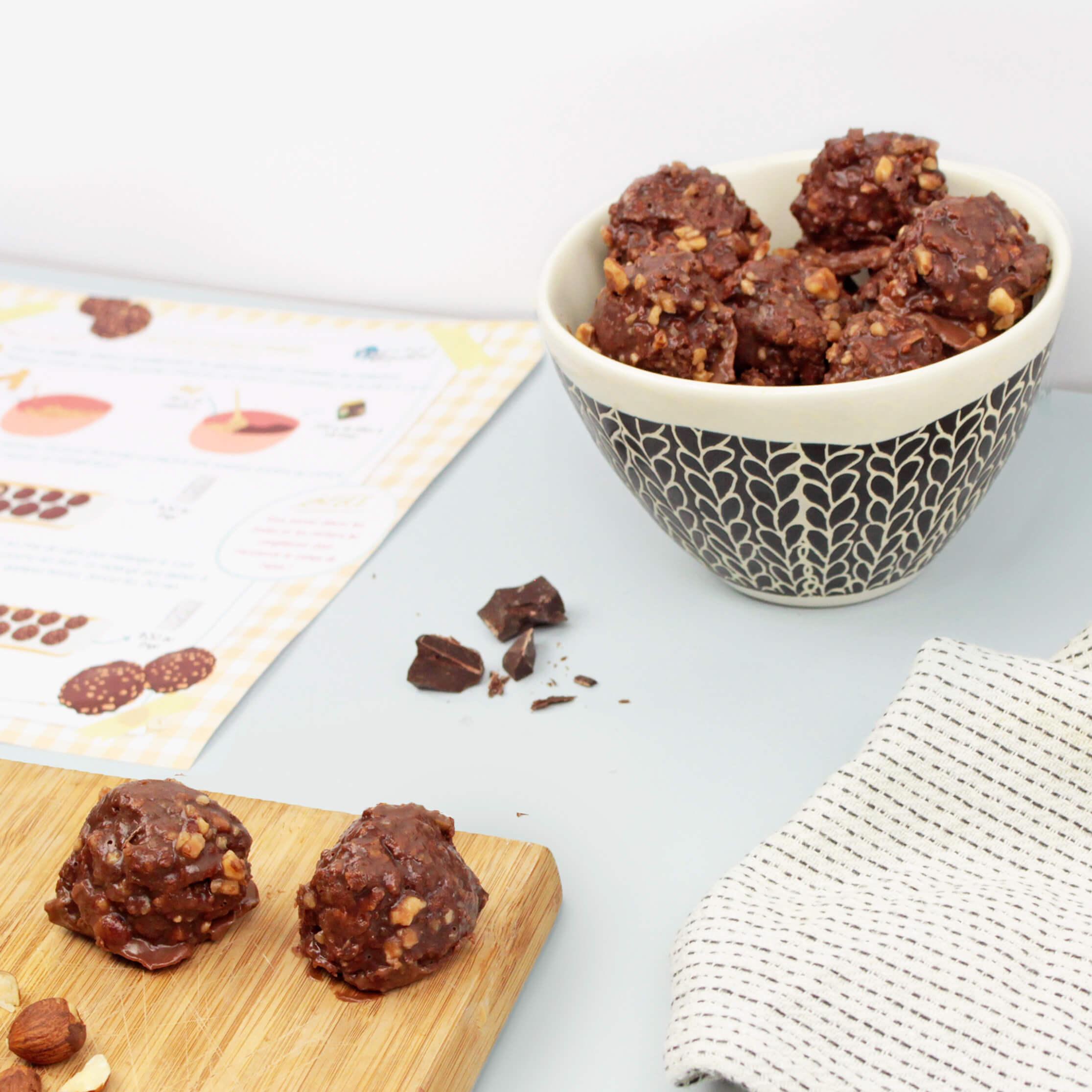 Une recette croquante et fondante pour les amateurs de chocolat !