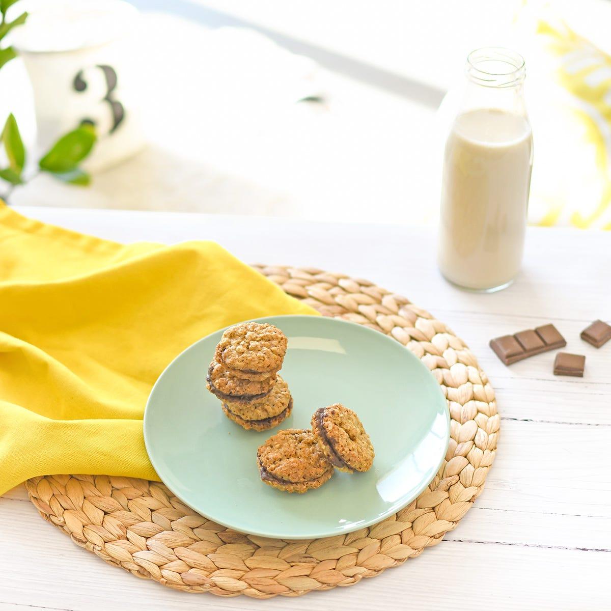 Du bon chocolat pour la gourmandise, de l'avoine pour l'énergie !