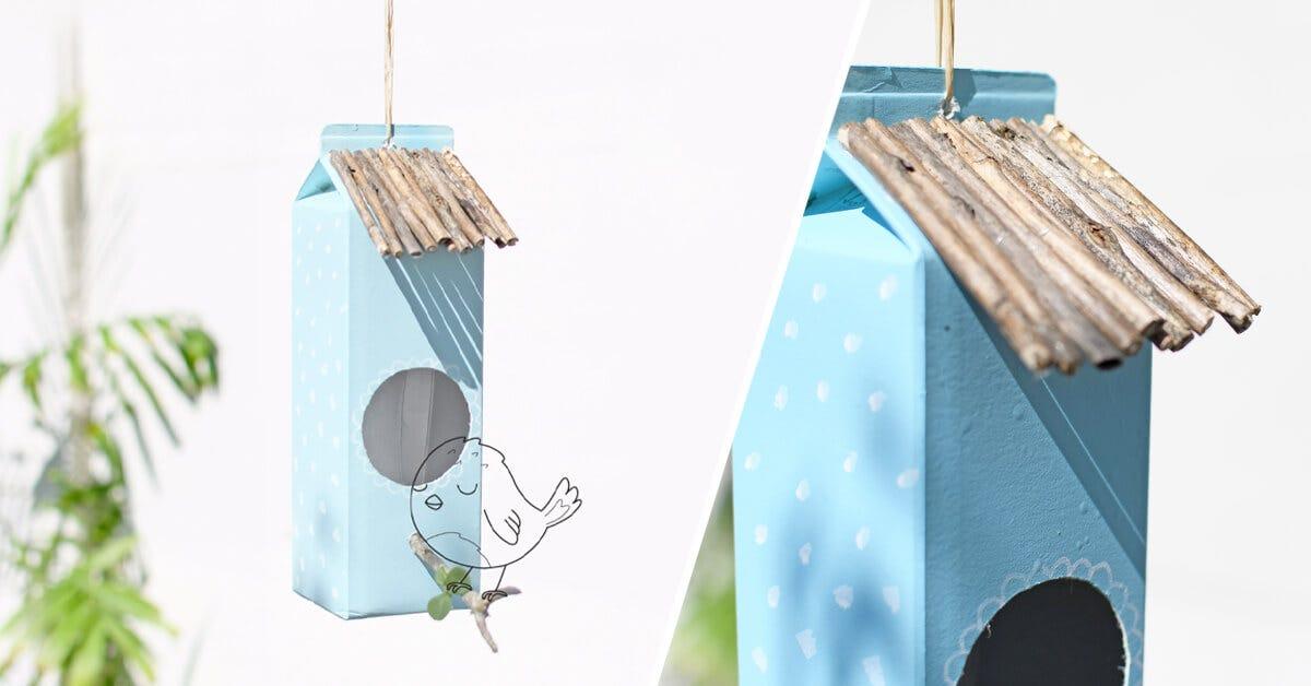Un joli nichoir à oiseaux pour fêter le Printemps !