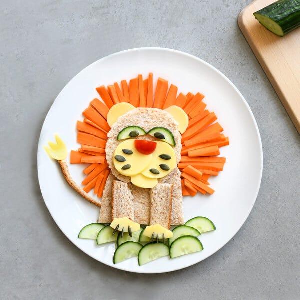 Le sandwich lion est une alternative simple et idéale avec des ingrédients sains et bons pour la santé !