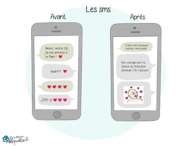 Quand tes conversations téléphoniques et tes SMS ne concernent plus que tes enfants… Bienvenue dans la vie de parent !