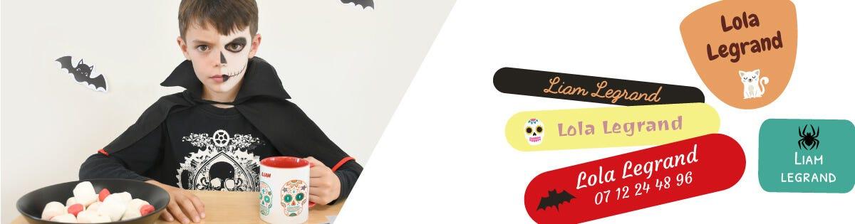 Pour effrayer tous vos amis, téléchargez gratuitement votre masque d'Halloween à imprimer : Citrouille, Chat noir, Fantôme, Tête de mort mexicaine ou araignée.