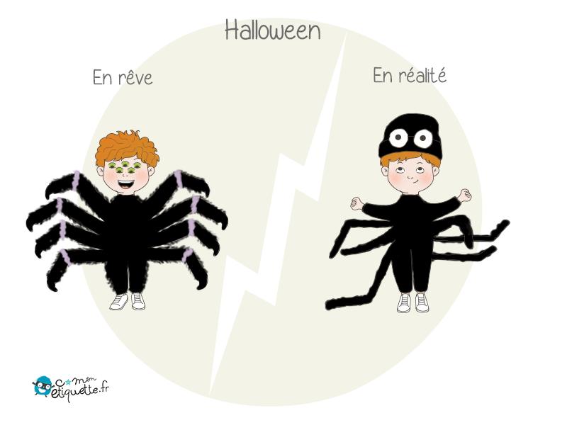 À Halloween, le plus terrifiant pour les parents est de trouver le meilleur déguisement pour leur enfant.