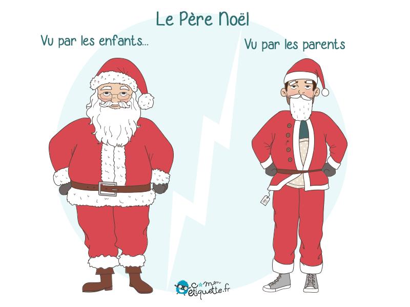 Chaque année les parents craignent que les enfants les démasquent derrière le déguisement du Père Noël. Retrouvez tous nos humours sur le blog.