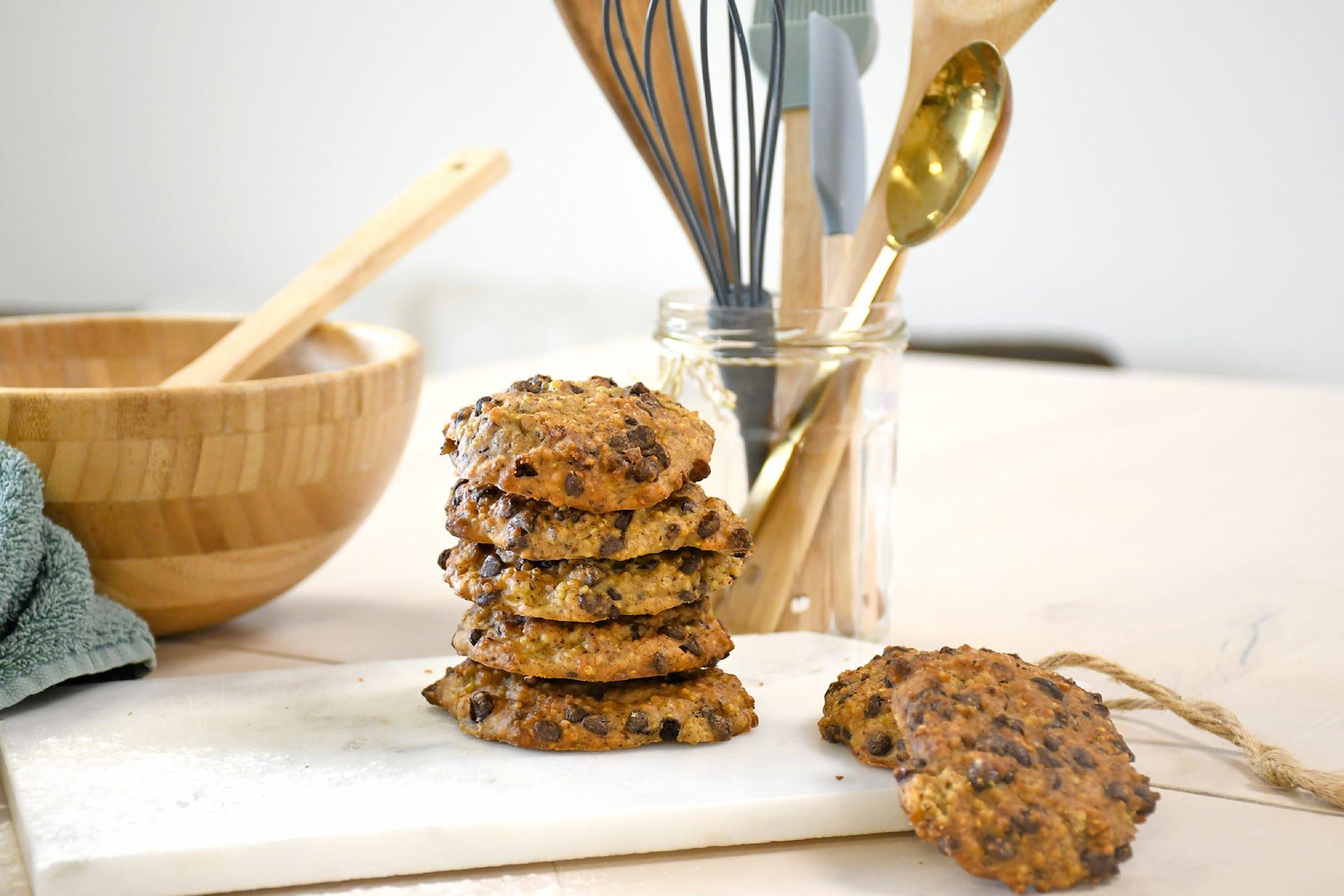 Des cookies gourmands au quinoa et aux pépites de chocolat pour un goûter original !