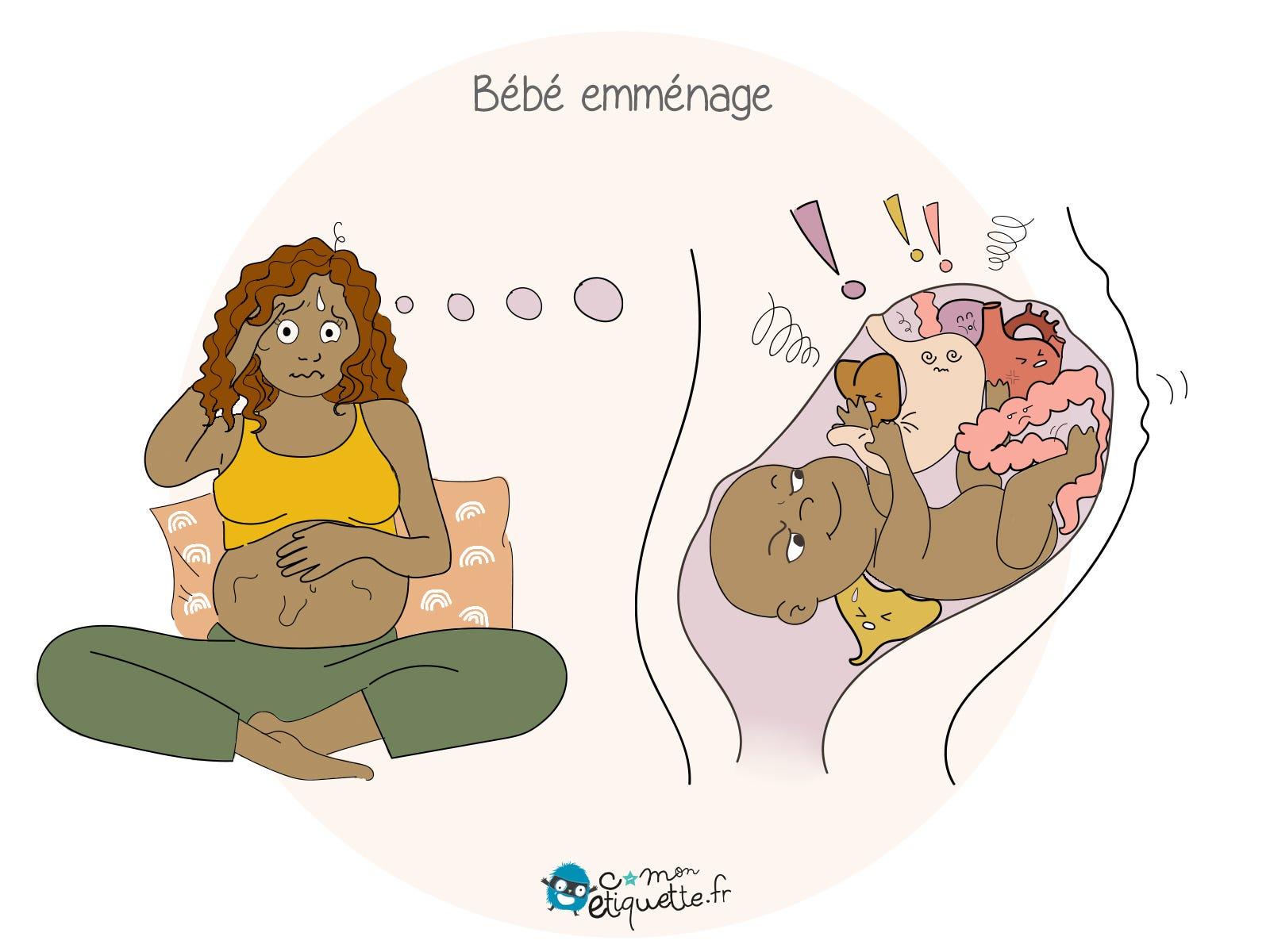 Pendant ta grossesse, bébé emménage et ton corps devient un terrain de jeu à part entière !