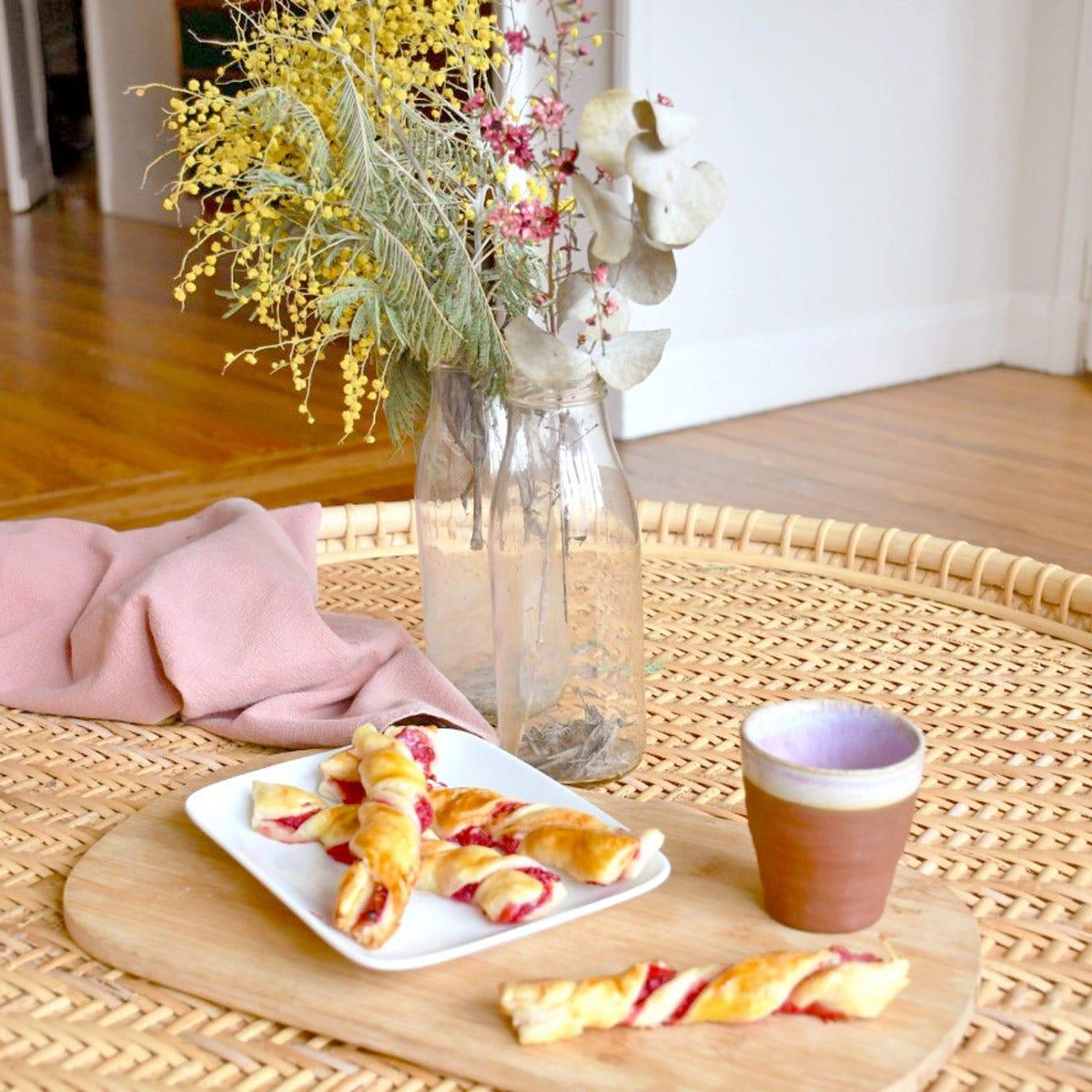 Dégustez de délicieuses torsades aux framboises pour le goûter des enfants… et des parents !