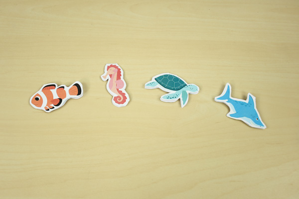marque-page animaux de la mer a fabriquer