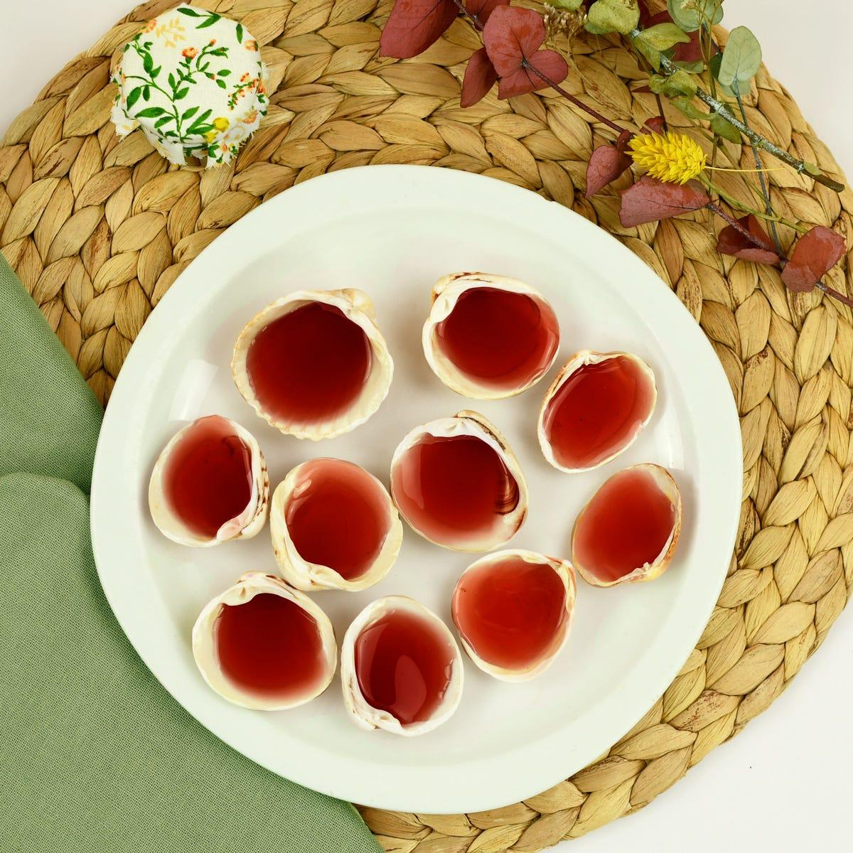 Une recette roudoudous coquillages, idéale pour de délicieux bonbons d'été !