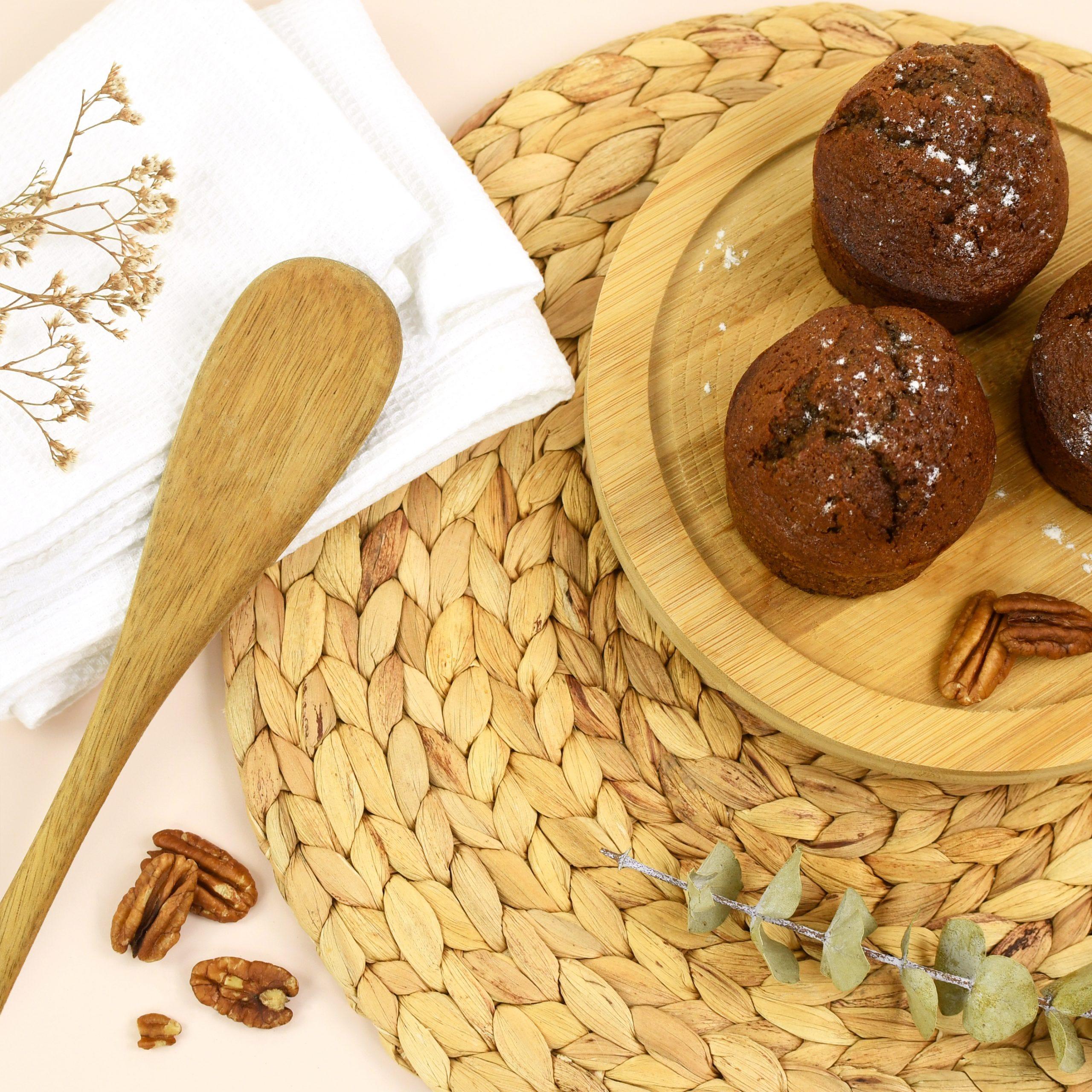 Gâter les enfants pour le goûter avec ces muffins chocolat noix de pécan !