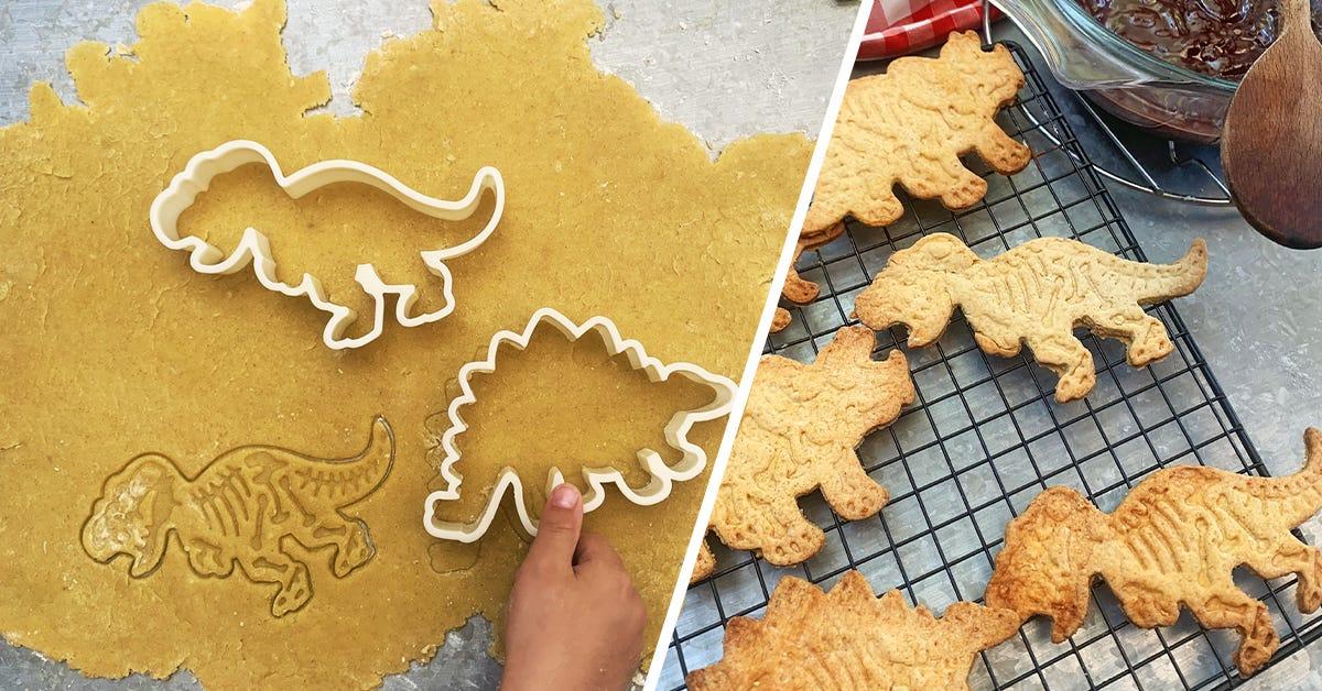 recette biscuit dinosaurus
